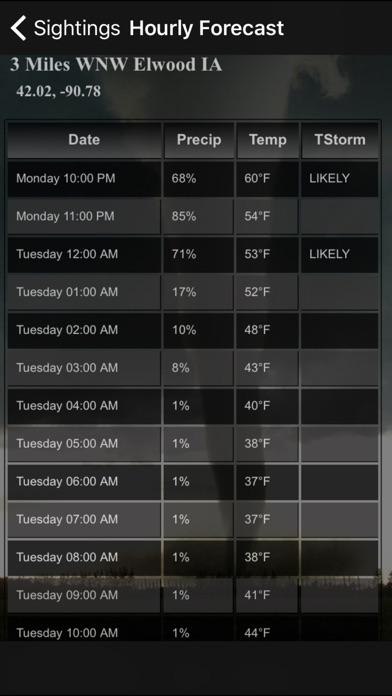 download TornadoSpy+: Tornado Maps, Warnings and Alerts apps 0
