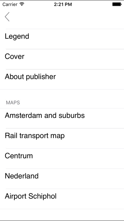 Amsterdam and suburbs. Tourist and road map.