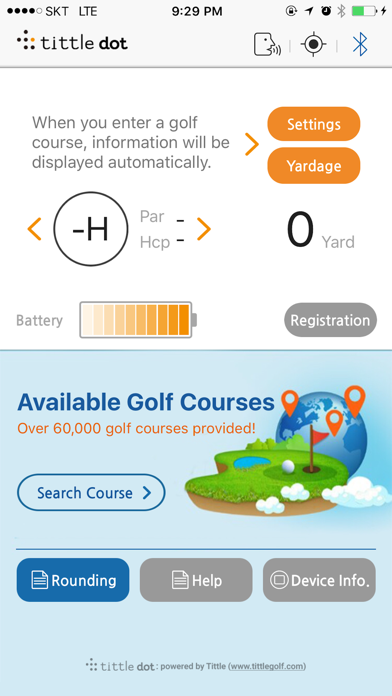 Tittle Dot with Golfwith:GOLF GPS screenshot two