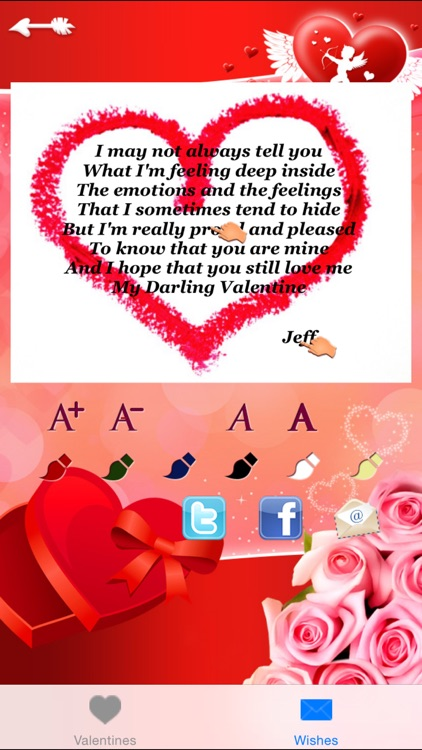 Love Message Greetings Cards Generator Free By Rosapp Ltd