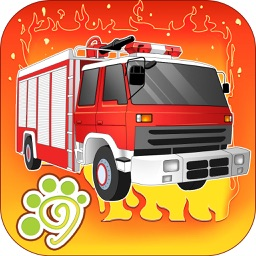 Little Firefighters - fire fighting truck kid game