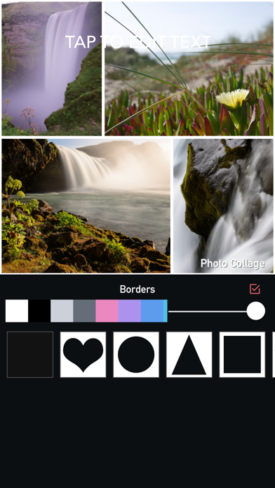 Photo Collage Maker & RainBow Photo Editor screenshot four