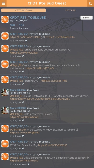 CFDT Rte Sud Ouest app image