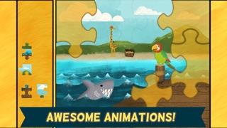 海盜學齡前拼圖– 適合男孩女孩的趣味教育幼兒遊戲和學校活動屏幕截圖5