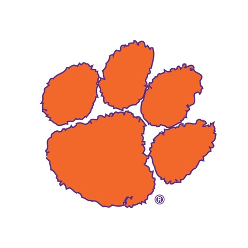 Clemson Tigers Animated+Stickers for iMessage