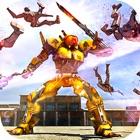 Futuristic Real Robots War - Steel Hero Battle 3D icon