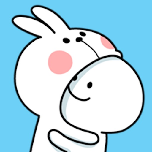 Cool Rabbit and Smile Face