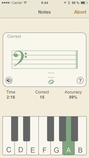 ‎Music Buddy – Learn to read music notes