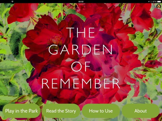iPad Image of The Garden of Remember