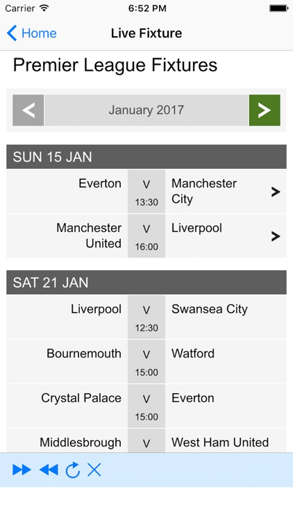 Live Football Update screenshot-1