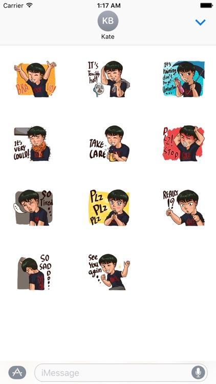 Valentine Of Single Men Stickers