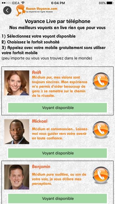 Screenshot #3 pour K-Voyance : la voyance en ligne réussie