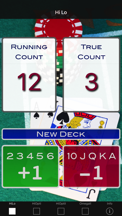 A Blackjack Card Counter - Professional screenshot one