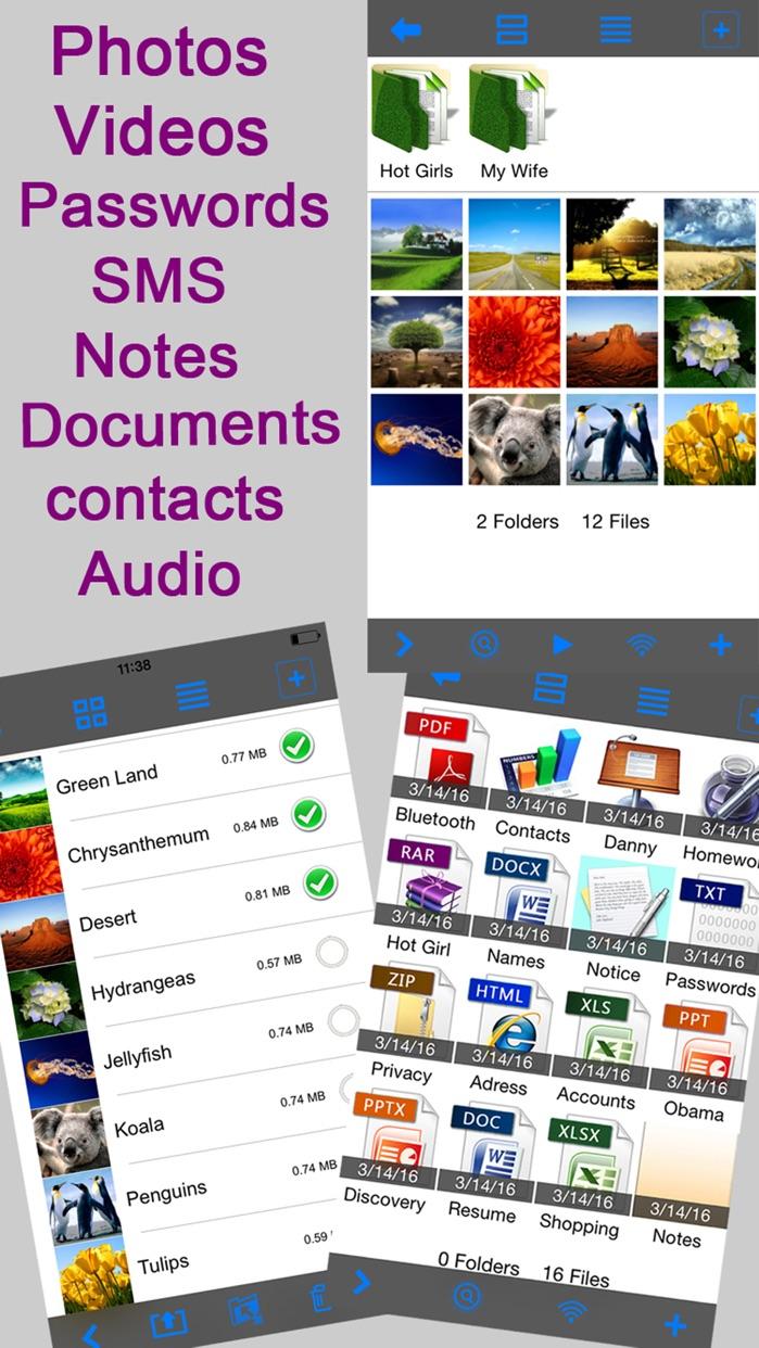 Lock Photos Safe: Hide Private Photo Picture Vault Screenshot