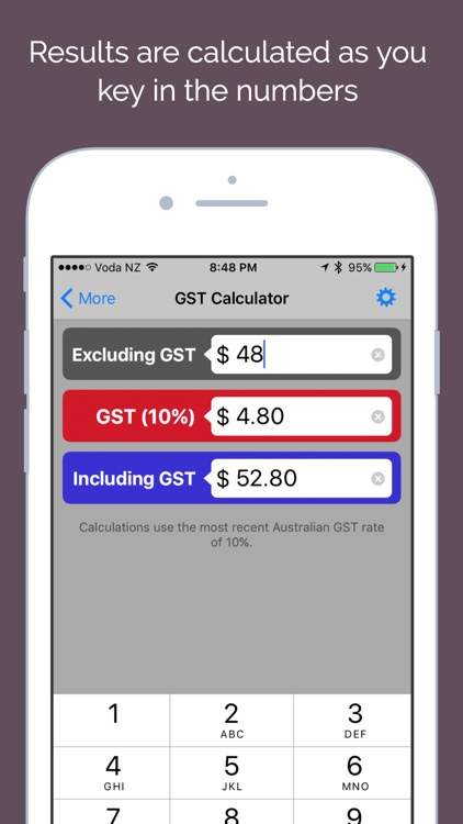 Aussie GST - Australian Goods and Services Tax Cal