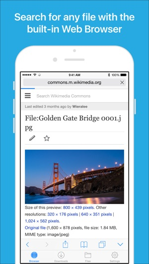 Files file manager browser on the app store fandeluxe Choice Image