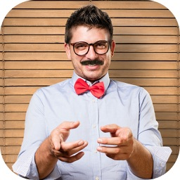 Man Hair Mustache Camera Photo Editor