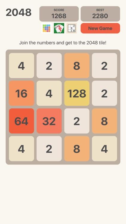 2048 Number Logic Games