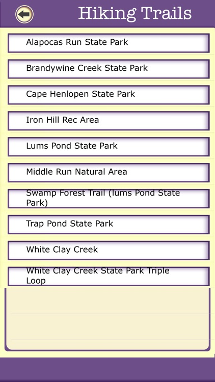 Delaware Campgrounds & Hiking Trails,State Parks screenshot-3