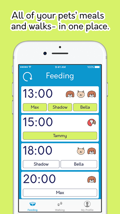 Pet Day - Your pet journal & planner screenshot one