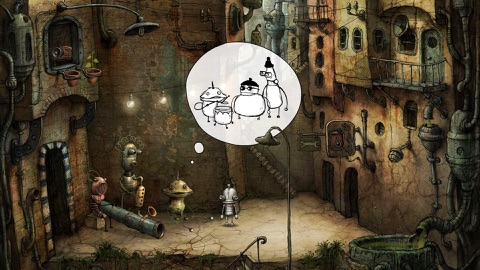 Screenshot #13 for Machinarium