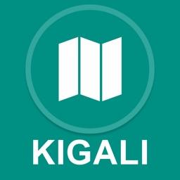 Kigali, Rwanda : Offline GPS Navigation