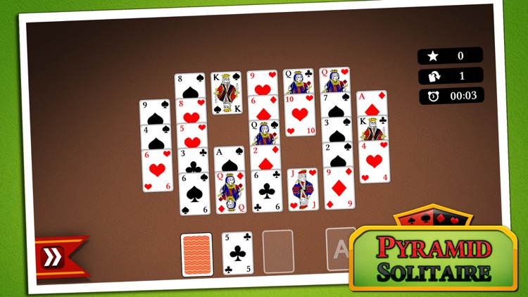 Pyramid Solitaire screenshot-4
