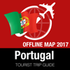 Portugal Reiseführer + Offline-Karte