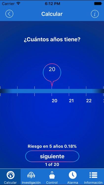 Stroke Riskometer pro screenshot-3