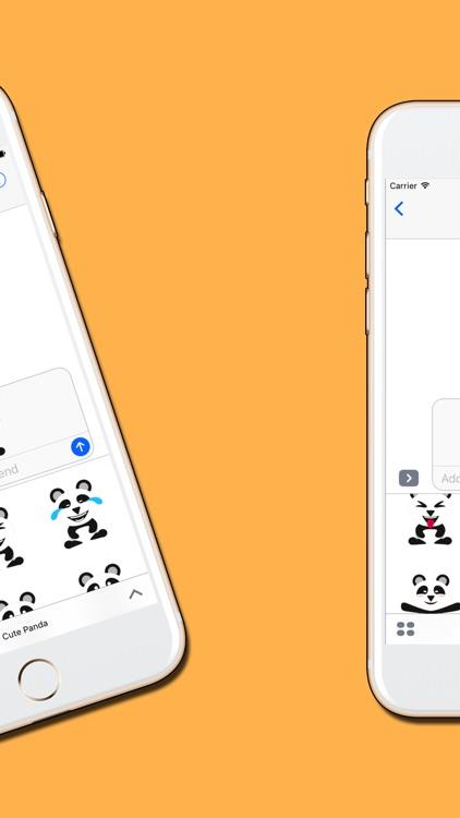 Panda : Cute & Adorable Stickers screenshot-3