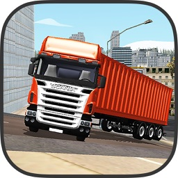 Cargo Trailer Transport Truck: Grand Truck Driving