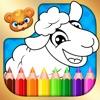 123 Kids Fun COLORING BOOK Educational Color Games