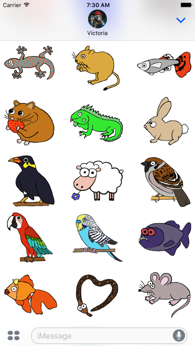 Animal Ages StickersScreenshot of 2
