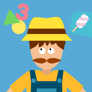 Math Tales The Farm: Rhymes and maths for kids app