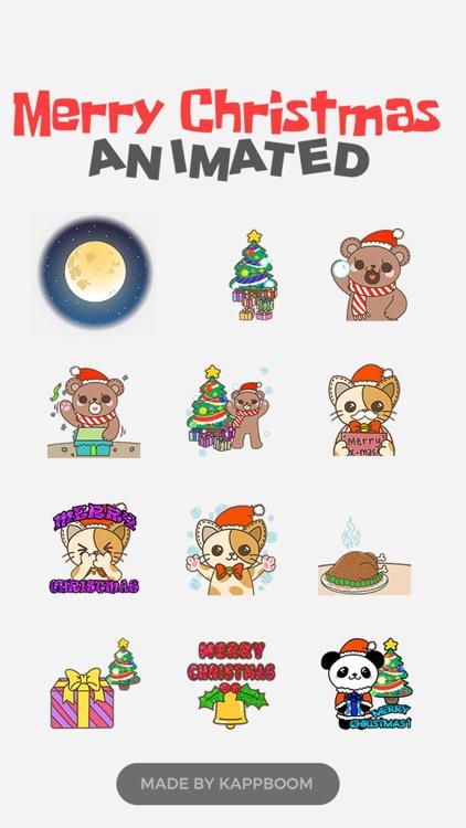 Christmas Animated Stickers!