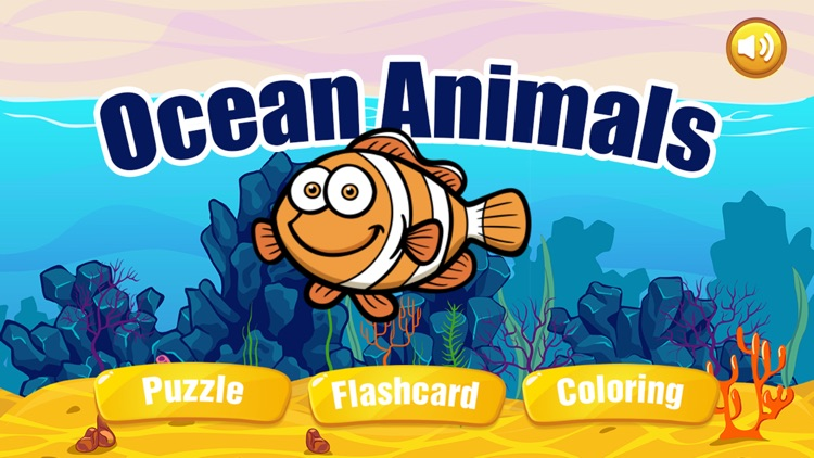 Ocean Animals and Sea For Kids and Toddlers