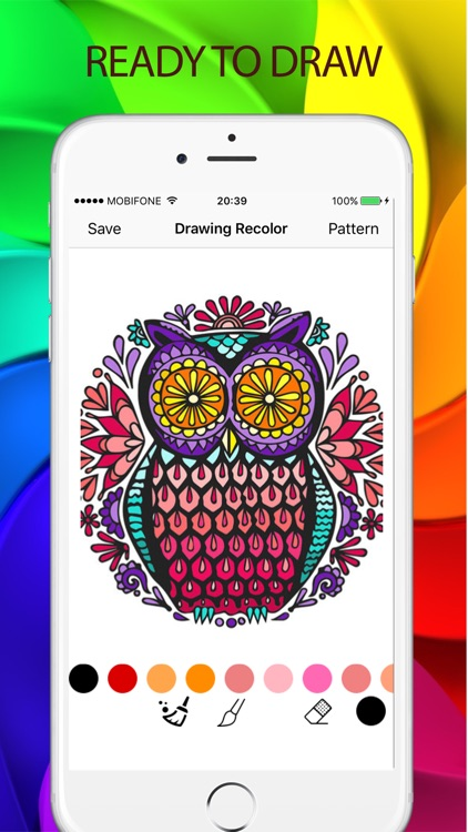 Sketches Color - a relaxing coloring book for kids screenshot-3
