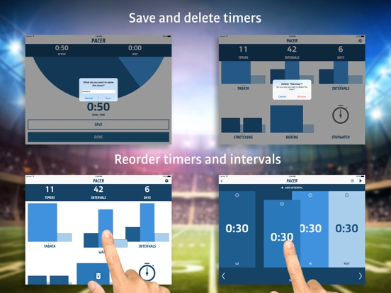 Pacer - Interval Fitness Timer Screenshot
