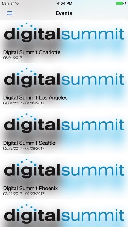 Digital Summit app image