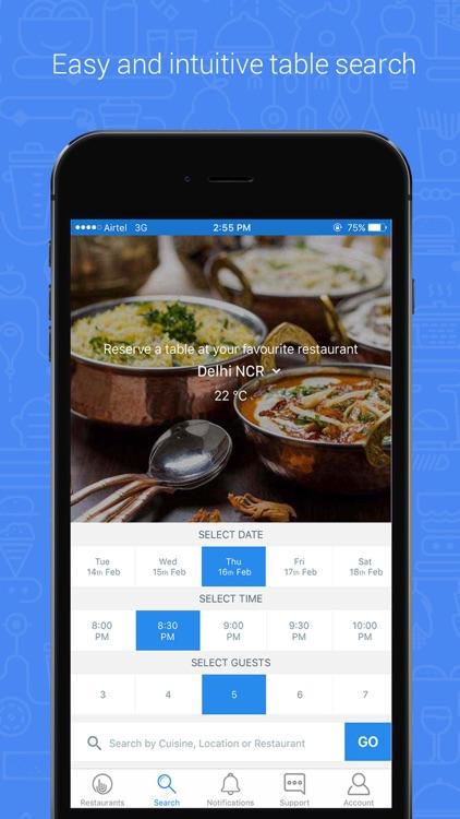 Clicktable Restaurant Booking