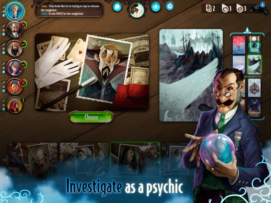 Screenshot #1 for Mysterium: A Psychic Clue Game