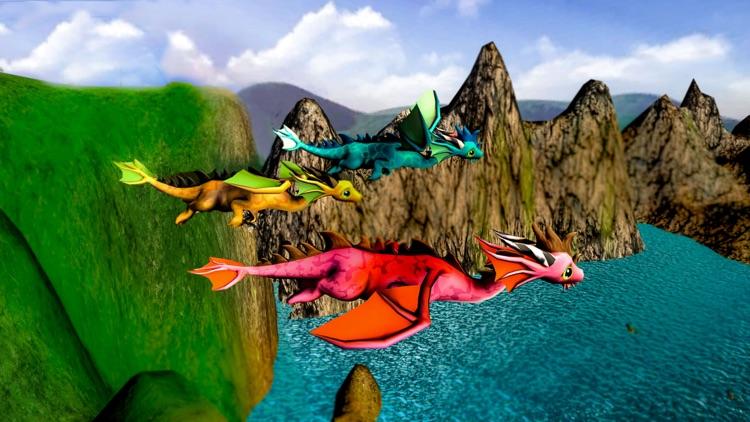 Vr Dragon Flight Simulator for Google Cardboard screenshot-3