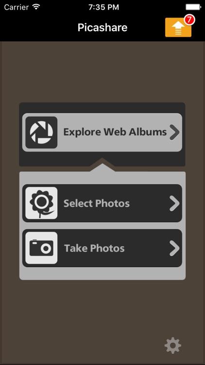 Picashare for Picasa and Google Photos albums
