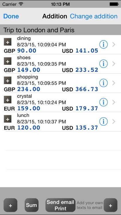 Calculator+Currency PRO screenshot-3
