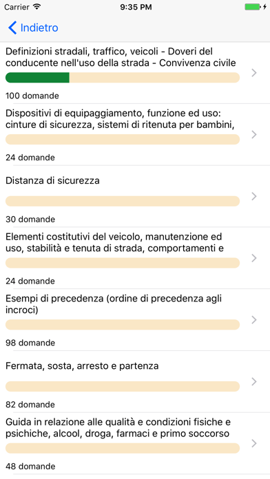 Screenshot of Quiz Patente di Guida 2017 Gratis2