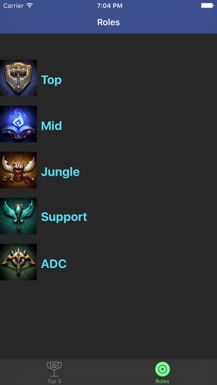 Pro Builds for LoL