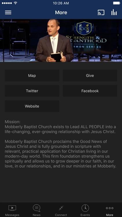 Mobberly Baptist Church