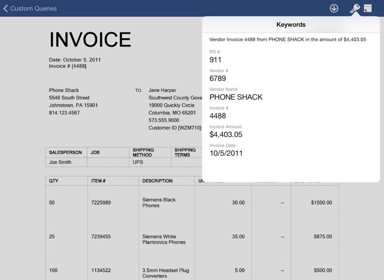 OnBase Mobile for iPad (Citrix Worx) screenshot-3