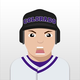 Colorado Baseball Stickers & Emojis