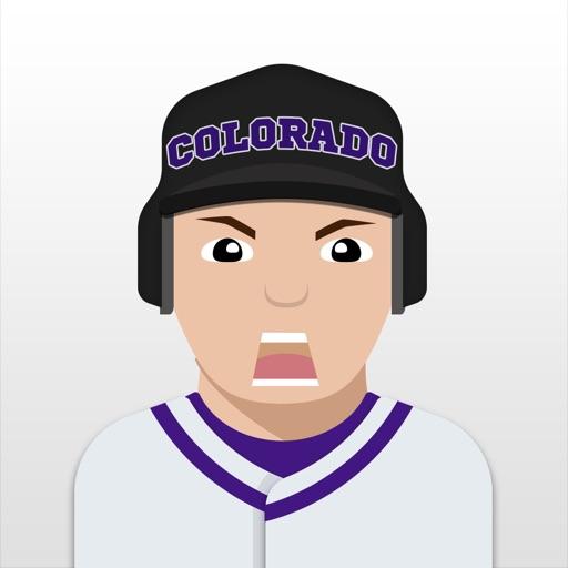Colorado Baseball Stickers & Emojis